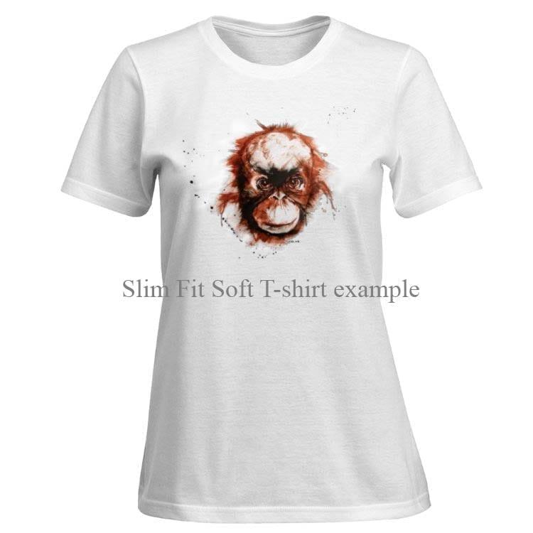 T-shirt with Orangutan