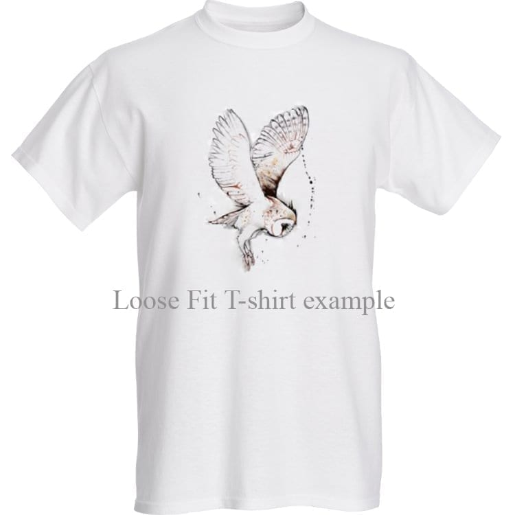 T-shirt with Barn Owl