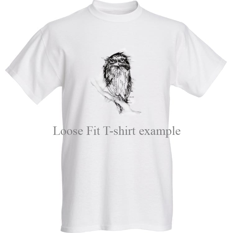 T-shirt with an Australian Tawny Frogmouth